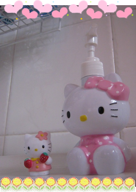 hello kitty hand soap bottle