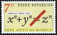 Sello del Teorema de Fermat-Wiles