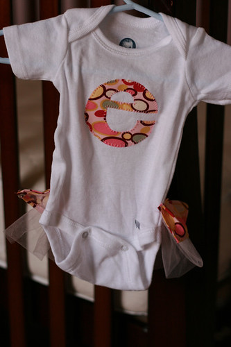 e applique onesie
