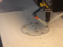 CNC'd bicycle chainrings (ROSKO.CC) Tags: seth rosko sethrosko slrosko roskocc