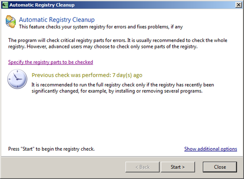 Reg Organizer 5 Automatic Registry Cleanup