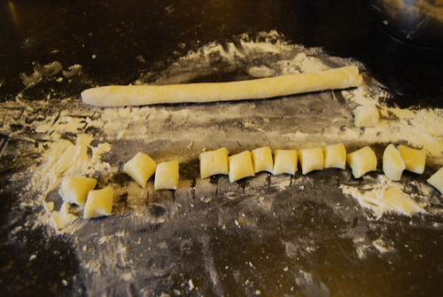 gnocchi, the making of....