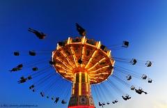 Centrifugal force (nikkorglass) Tags: lowlight nikon funny sweden stockholm wideangle august carousel amusementpark nikkor 1020mm 2009 grönalund highiso karusell augusti d300 sigma1020mm vidvinkel nikkorglass kättingflygaren