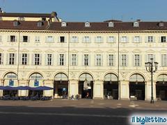 Torino - Piazza San Carlo (il Bigliettino) Tags: torino piazzasancarlo
