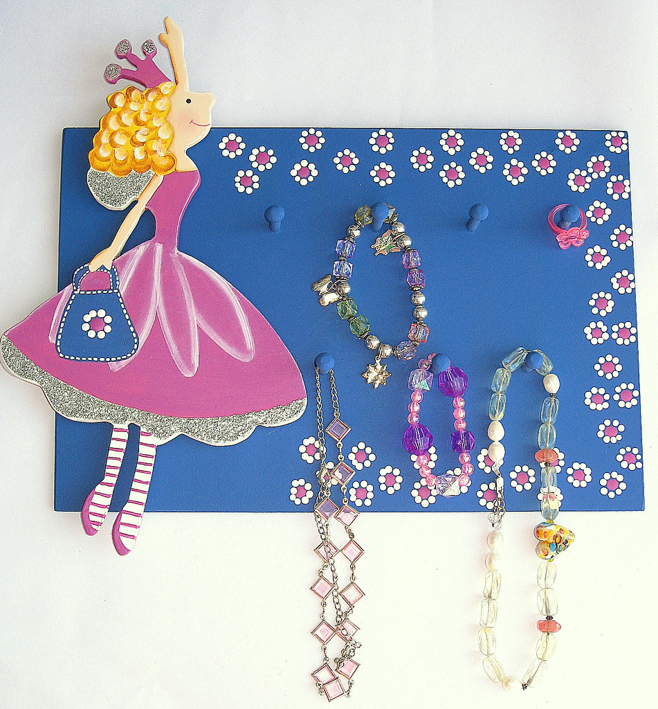 Fairy Wall Jewelry and Accesories Holder for Girls