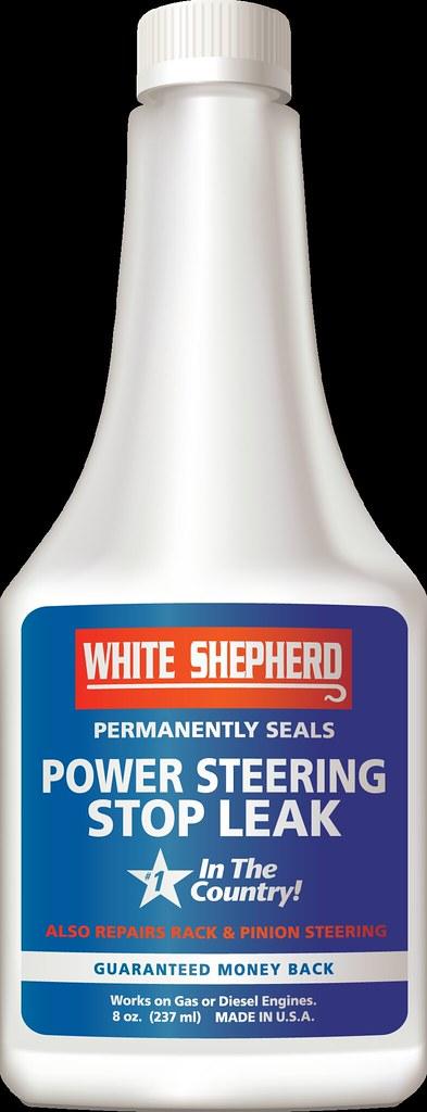 White Shepherd Power Steering Stop Leak