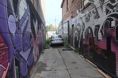 grafitti laneway
