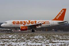 G-EZAJ - Easyjet - Airbus A319-111 (A319) - Luton - 090212 - Steven Gray - IMG_9066