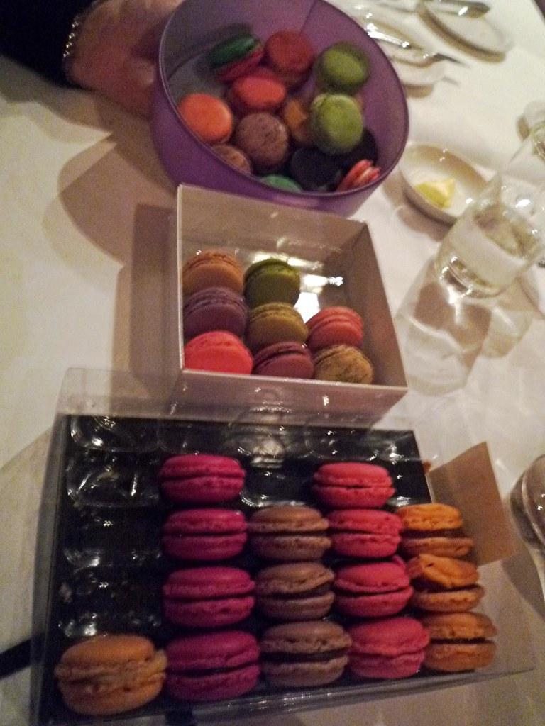 Parisian macaron degustation