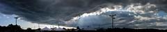 County Fair Storm Clouds Panorama 1