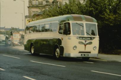 West Riding Coach at Bradford, 1984