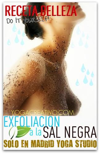 Receta Belleza: Exfoliación de Otoño con Sal Negra