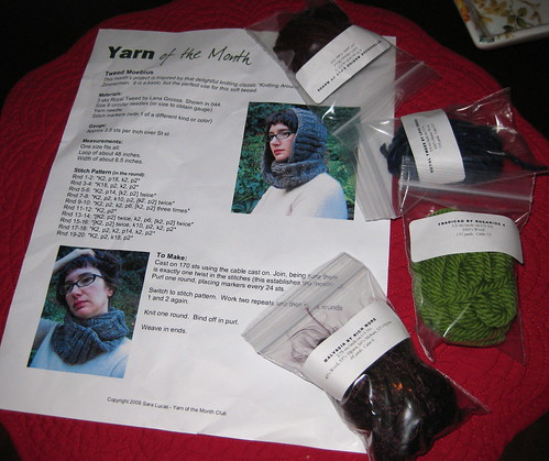 Yarn of the Month Club, Oct.