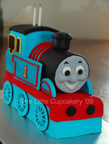 Jaxon's Thomas the Tank Engine 2nd  Birthday Cake