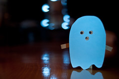 day 110- The Tables have turned (Pat_Landor) Tags: man project fun bokeh shaped ghost 365 afraid filters pac danbo