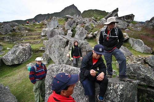 Machu Picchu Stone Group Shot