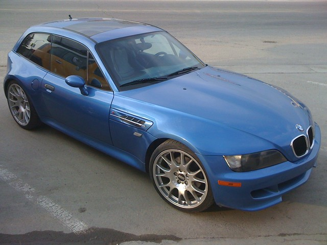 1999 M Coupe | Estoril Blue | Estoril/Black | BBS CH Wheels | Calgary, Canada
