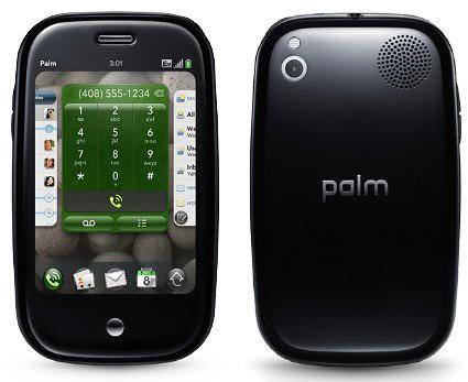 Palm Pre frontal atrás