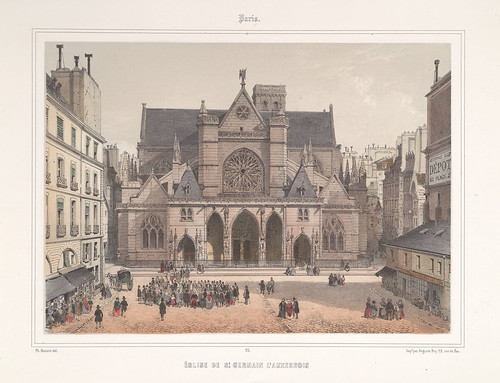 006- Paris- Iglesia de San Germain L'Auxerrois