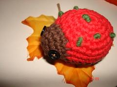 Christmas ladybug 2 (Graziella Ines) Tags: christmas kids toys dolls crochet ladybug amigurumi