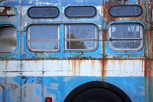 Art in Old Bus 6