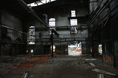 Into the Light (binaryCoco) Tags: city urban abandoned industry town industrial factory decay fabrik ruin continental hannover ruine stadt industrie conti abriss verlassen zerfall limmer contigelände