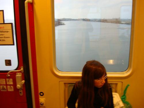 Über der Weser