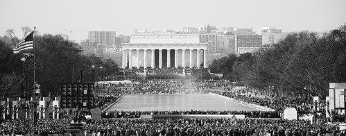 lincoln memorial crowd