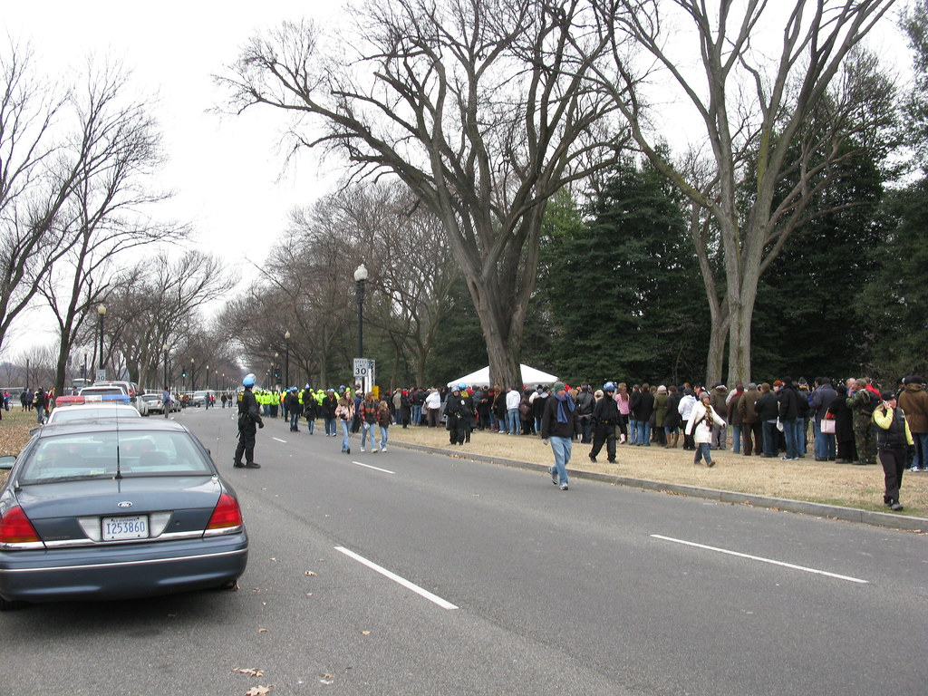 2009 01 18 - 0318 - Washington DC - Queue