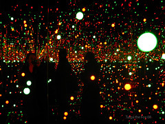 Wonderland! (Taiga the Fox) Tags: art liverpool japanese lights artwork artist colours contemporaryart yayoi biennial kusama yayoikusama liverpoolbiennial flickrestrellas colorsinourworld