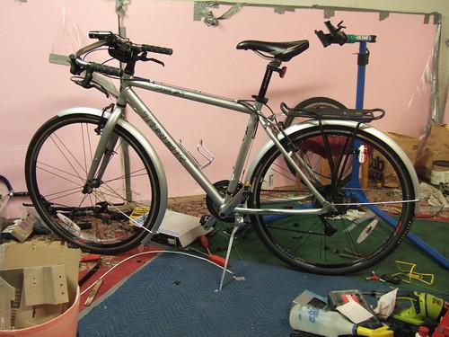 Bike upgrade: finished product