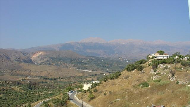 Κρήτη - Χανιά - Δήμος Γεωργιουπόλεως Τα Λευκά Όρη από την Εξώπολη