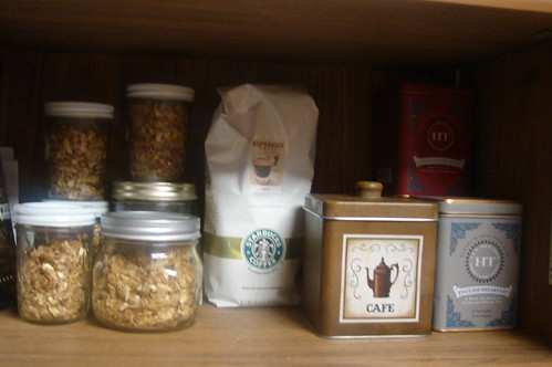 Granola, Coffee, Tea
