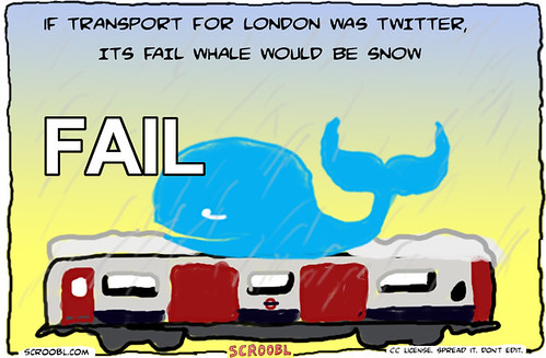 Transport for London Fail Whale by Jon in 60 Seconds