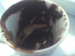 Is there a tasseographist in the house? (Velvet Martini) Tags: coffee turkishcoffee tasseography