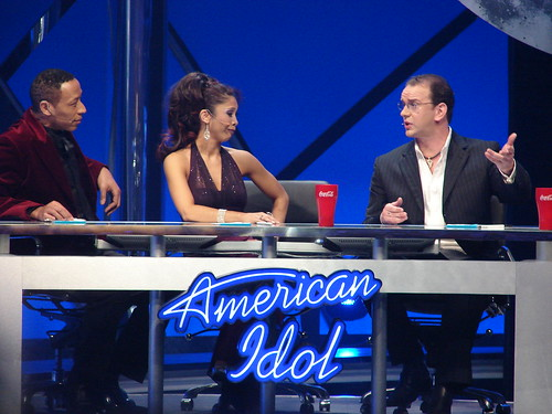 The Idol judges. Photo by Mark Goldhaber.