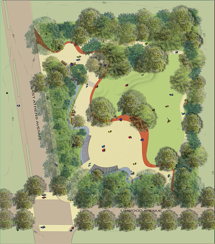 Plan for Linwood Park - Ardmore