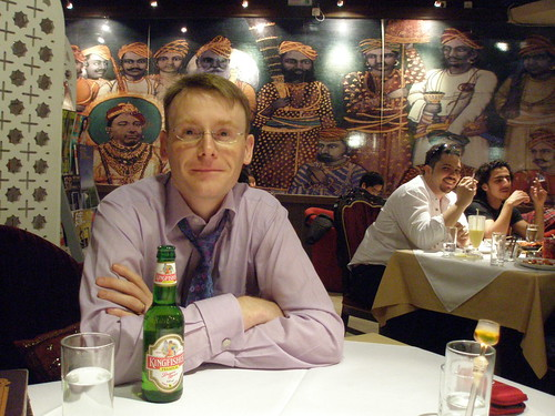 Graham, Indian Restaurant on Chengfu Rd, Beijing