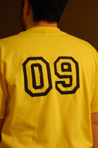 Annual Fantasy Baseball Team Shirt - 2009