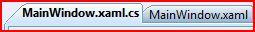 VS 2008 Code Editor Tabs