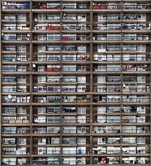 Which one was my flat again? (dr_colossus) Tags: uk england london tower flats balconies trellicktower brutalism brutalist trellick goldfinger wonderfulworld amemoryofourdailylife