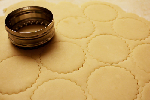 Shortbread Cookie Cutting