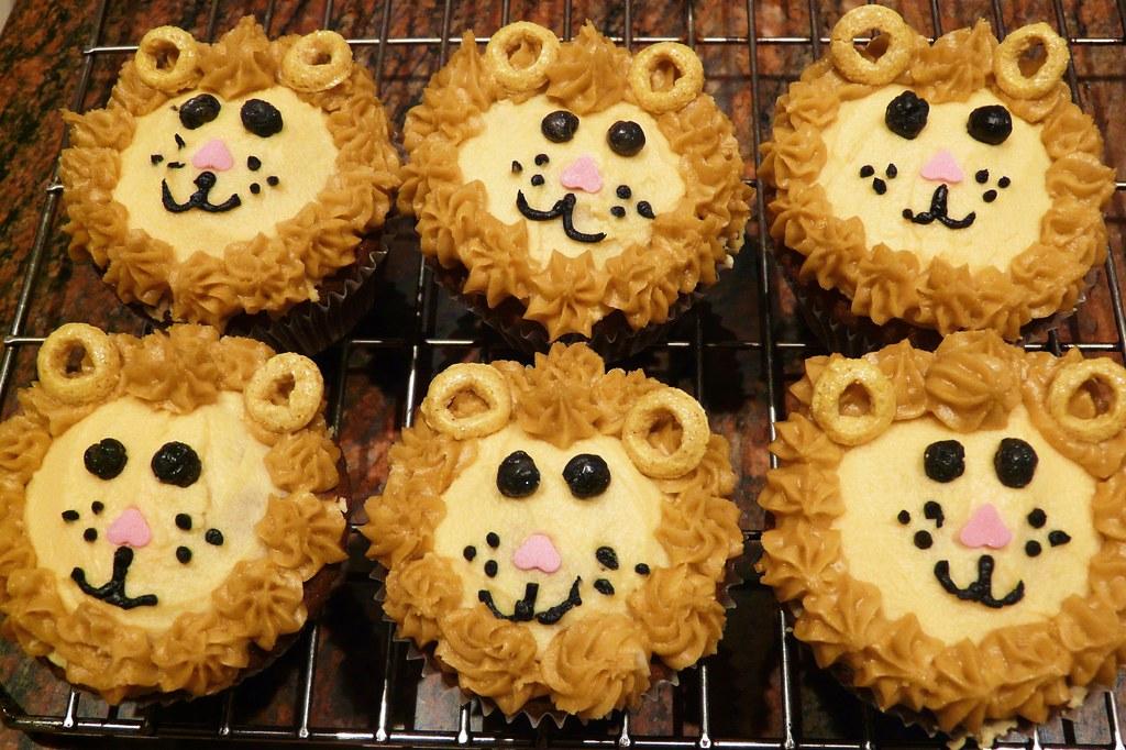 Lion King Cupcake Cakes