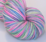 """Baby's Breath""  - 3.5 oz on 3-ply merino (kettle dye)"