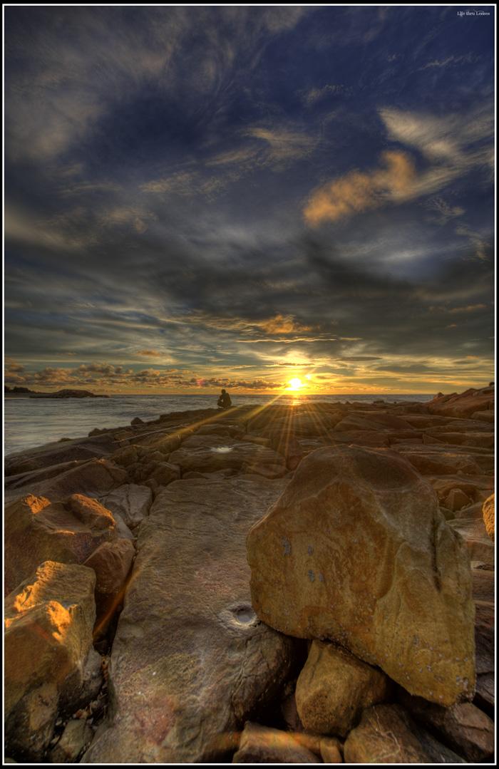 Sunset at Penanjong 01