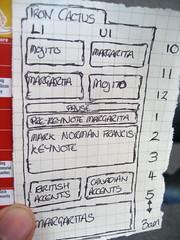 Iron Cactus schedule