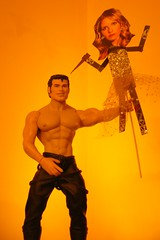 Tom of Finland Vs Buffy the Vampire Slayer (danimaniacs) Tags: shirtless leather toy plastic paperdoll tomoffinland buffythevampireslayer