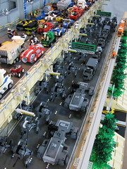 Zero Hour on Highway 44 (Dawn Forge Mix) (mondayn00dle) Tags: cars project highway lego military keith trucks apc tool collaboration mecha mech foitsop