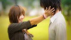 Young and in love (kktp_) Tags: portrait woman man thailand nikon dof bokeh bangkok save fha 85mmf14d d90