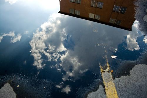 el cielo tirado en el piso